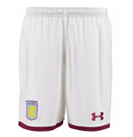 Pantaloncini Short Aston Villa 2017-2018 Home (Bianco)