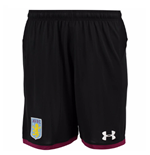 Pantaloncini Short Aston Villa 2017-2018 Away (Nero)