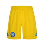 Pantaloncini Short Napoli 2017-2018 Away (Giallo)