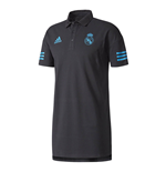Polo Real Madrid 2017-2018 (Nero)