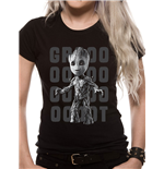 T-shirt Guardians Of The Galaxy da donna - Design: Groot Photo