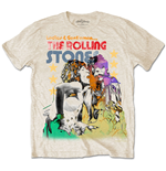 T-shirt The Rolling Stones Mick & Keith Watercolour Stars