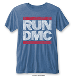 T-shirt Run DMC Vintage Logo with Burn Out Finishing