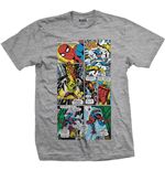 T-shirt Marvel Superheroes Panels