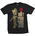 T-shirt Marvel Superheroes Guardians of the Galaxy Vol. 2 Groot & Button