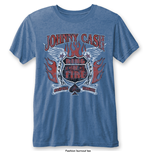 T-shirt Johnny Cash da uomo - Design: Ring of Fire