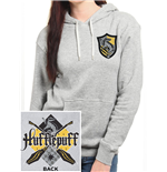 Harry Potter - House Hufflepuff Fitted (felpa Con Cappuccio Unisex )