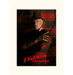 Nightmare On Elm Street - Freddy Krueger (Stampa 30X40 Cm)