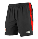 Pantaloncini Short Athletic Bilbao 2017-2018 Home (Nero)