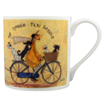 Sam Toft (The Doggie Taxi Service) Bone China Mug (Tazza)
