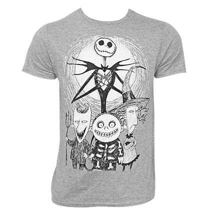 T-shirt Nightmare before Christmas da uomo