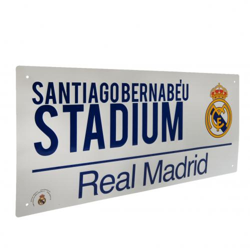 Targhetta Real Madrid 274523
