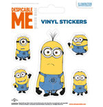 Despicable Me - Illustrated Minion (Set Adesivi 12,5X10 Cm)