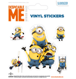 Despicable Me - Minions Doing (Set Adesivi 12,5X10 Cm)