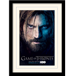 Game Of Thrones - Season 3 - Jaime (Stampa In Cornice 30X40 Cm)