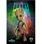 Guardians Of The Galaxy 2 - I Am Groot - Space (Poster Maxi 61X91,5 Cm)