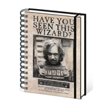 Harry Potter - Wanted Sirius Black (Quaderno A5)