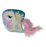 My Little Pony - Fluttershy - Cuscino Con Coda In Peluche 30 Cm
