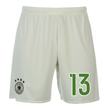 Pantaloncini Short Germania calcio 2016-2017 Away