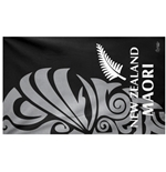 All Blacks Nuova Zelanda Telo Mare Microfibra Maori Nero