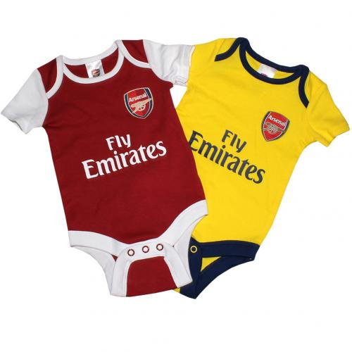 Set Body da bebè Arsenal FC 3/6 mesi