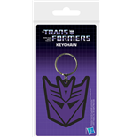 Transformers G1 - Decepticon Shield (Portachiavi In Gomma)