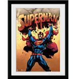 Superman - Strength (Stampa In Cornice 30x40cm)