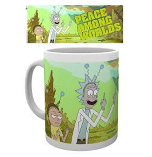 Rick And Morty - Peace (Tazza)