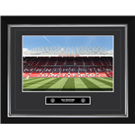 Manchester United - Old Trafford (Stampa In Cornice 40x50 Cm)