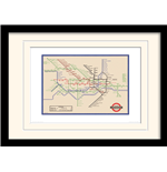 London Transport - 7 (Stampa In Cornice 30X40 Cm)