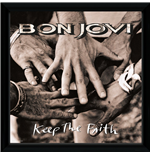 Bon Jovi - Keep The Faith (Stampa In Cornice 30x30 Cm)
