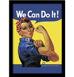 Rosie The Riveter (Stampa In Cornice 30X40 Cm)