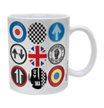 Mod And Ska Icons (Tazza)