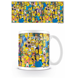 Simpsons (The) - Characters (Tazza)