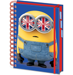 Minions (British Mod) A5 Project Book (Quaderno)