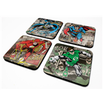 Dc Originals (Burst) 4 Coaster Set (Set 4 Sottobicchieri)