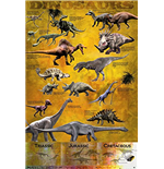Dinosaurs - Chart (Poster Maxi 61x91,5 Cm)