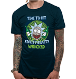 T-shirt Rick and Morty - Riggity Riggity Wrecked