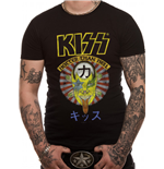 T-shirt Kiss - Design: Hotter Than Hell Japan