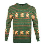 Legend Of Zelda (THE) - Zelda Christmas Sweater Green (maglione Unisex )
