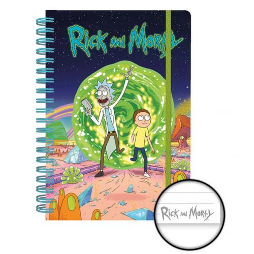 Quaderno Rick and Morty 275733