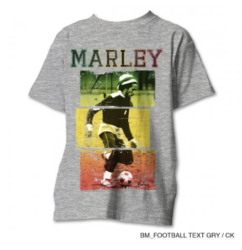T-shirt Bob Marley da uomo - Design: Rasta Football