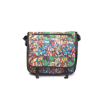 Marvel Comics- All Over Comic Style Messenger Bag Messenger Bags U Multicolor