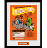 Minecraft - Craft Your Own Minecraft (Stampa In Cornice 30x40cm)