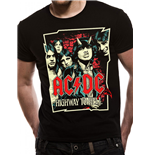 AC/DC - Cartoon (T-SHIRT Unisex )