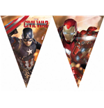 Captain America - Civil War - Bandierine