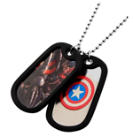 Captain America Graphic Logo Front Double (Medaglietta)