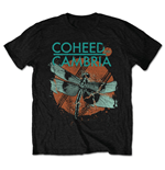 T-shirt Coheed and Cambria da uomo - Design: Dragonfly