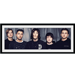 Bring Me The Horizon - Band (Stampa In Cornice 30x75cm)
