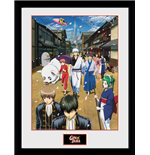 Gintama - Key Art 2 (Stampa In Cornice 30x40cm)